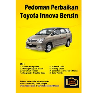 Pedoman Perbaikan Toyota Innova Bensin