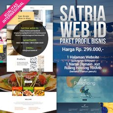 Paket Web Profile Bisnis / Landing Page