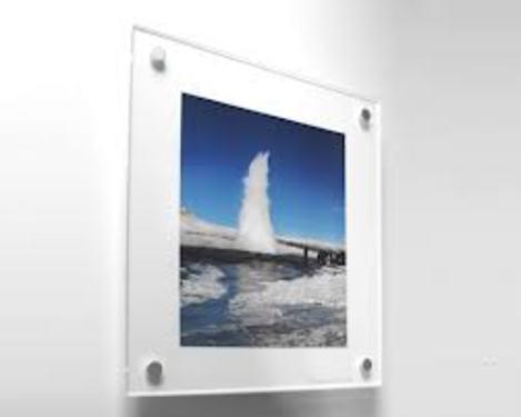 Custom acrylic poster frames