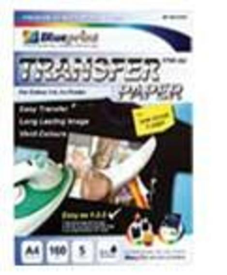 jual transfer paper Blueprint kaos Dark,