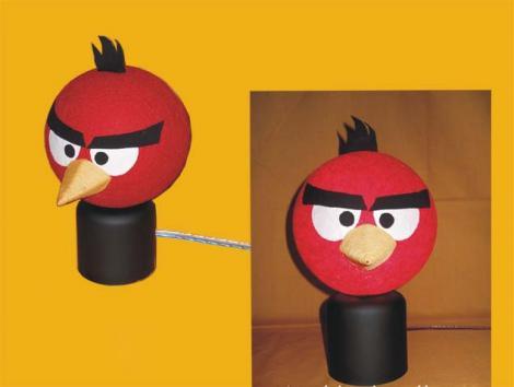 Hiasan Lampu Benang Angry Bird