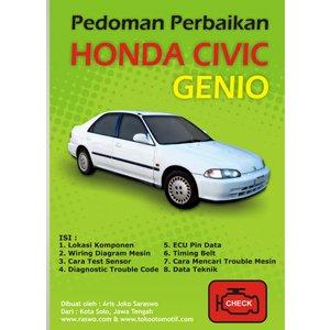 Pedoman Perbaikan Honda Givic Genio