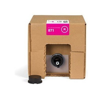 Genuine HP 871C 3-liter Magenta Latex Ink Cartridge G0Y80C