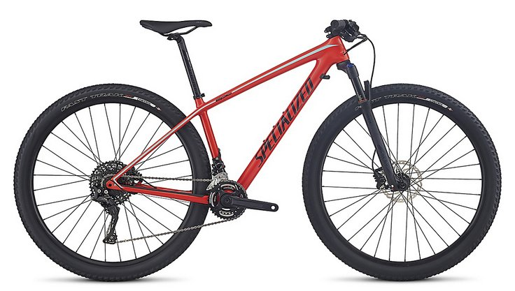 2017 Specialized Women's Epic HT Comp Carbon MTB