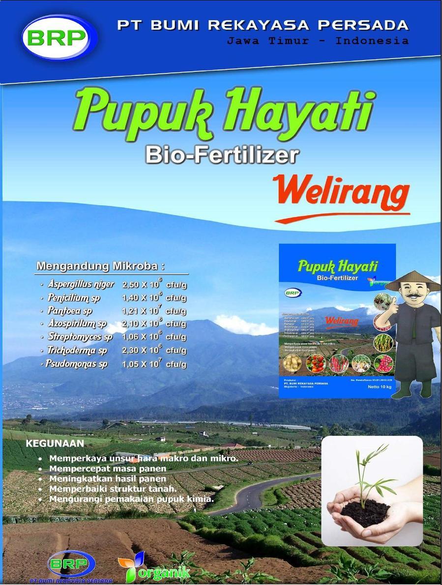 "Pupuk Hayati - Bio Fertilizer ""WELIRANG"""