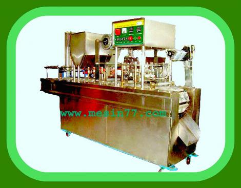 Automatic Cup Sealer 2 Line Machine
