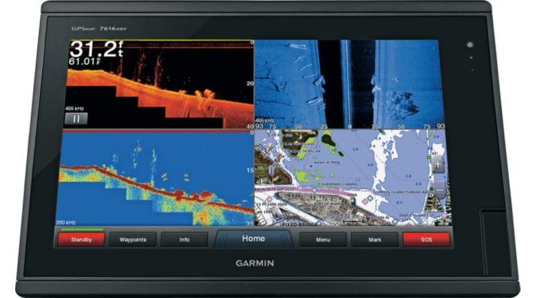 Garmin GPSMAP 7616xsv Sonar Combo with BlueChart and LakeVü Maps