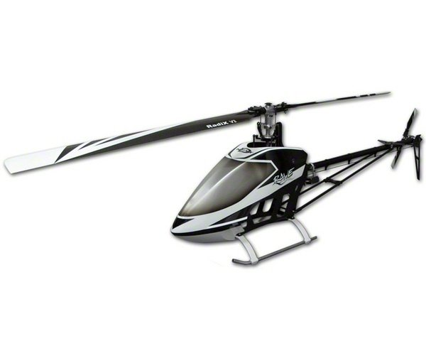 "Curtis Youngblood Rave ENV ""Big Block"" Flybarless Nitro Helicopter Com"