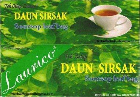 Teh Daun Sirsak Laurico
