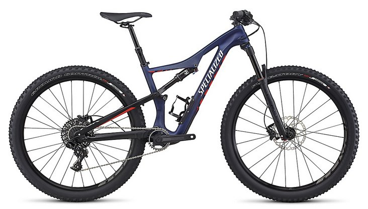 2017 Specialized Women's Camber Comp Carbon 650B MTB