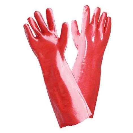 Sarung tangan karet PVC tebal Sarung tangan karet PVC tebal