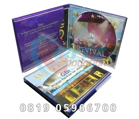Paket DVD 2 Lipat Board Tray Custom