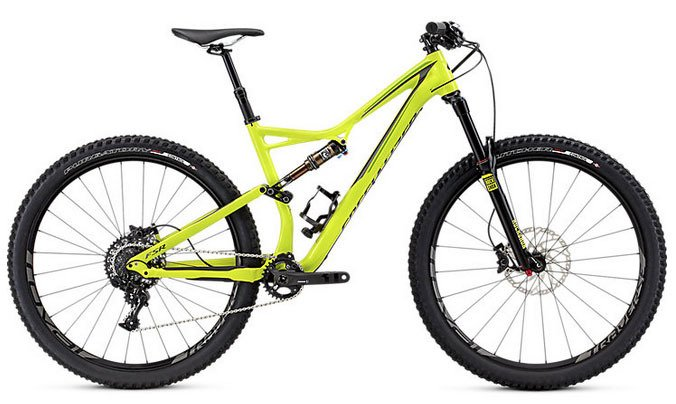 2016 Specialized Stumpjumper FSR Elite 29 Mountain Bike