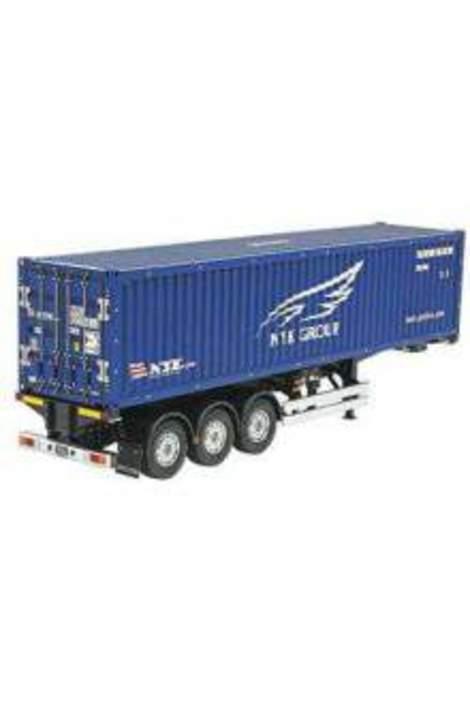 Tamiya 1/14 40ft Container Semi-Trailer (NYK) TAM56330