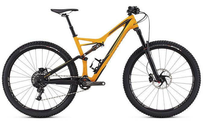 2016 Specialized Stumpjumper FSR Expert 29 Mountain Bike